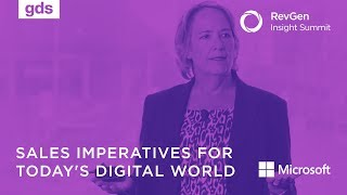 Sales imperatives for today's digital world | Helen Fanucci Microsoft