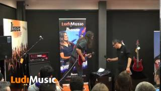 Kiko Loureiro - 2015.02.13 Portugal「LudiMusic」にて行われたギタークリニック84分の映像を公開 「2015 Ibanez Europe Clinic Tour」 thm Music info Clip