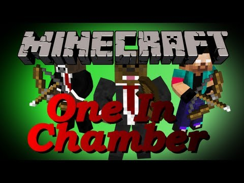 Minecraft One in the Chamber MiniGame