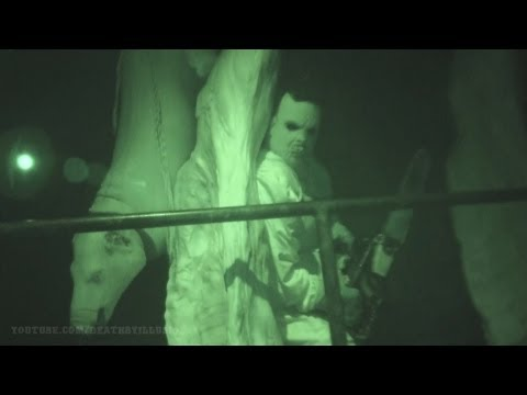 Universals House Of Horrors Nightvision (Nightvision HD) Universal Studios Hollywood 2012