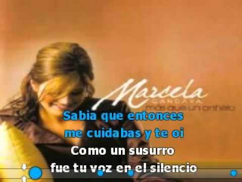 Supe Que Me Amabas Pista Karaoke   Marcela Gandara