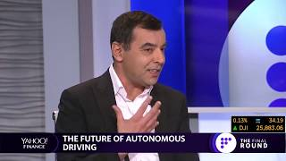 Mobileye CEO on Yahoo Finance Discussing the Biggest Topics in Autonomous