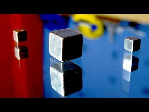Фокус с магнитами - YouTube