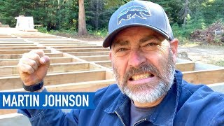 Don't Make This Rookie Mistake! | Off Grid Cabin Build #14