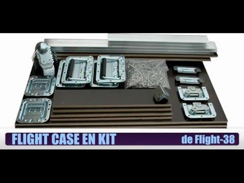 EXEMPLE DE MONTAGE KIT FLIGHT CASE