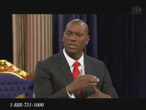 Tyrese Gibson with Steve Harvey on TBN Jun 10, 2011 Interview Music Videos