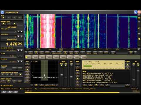 Peruvian MF stations heard in London 16 June 2015