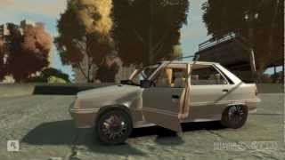 GTA IV Renault Flash Turbo Mod + crash test HD