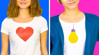 22 AWESOMELY COOL T-SHIRT IDEAS ANYONE CAN DIY