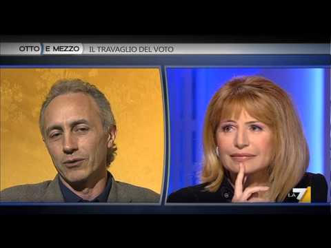 Marco Travaglio spiega il suo voto disgiunto per M5s e Rivoluzione Civile (08Feb2013)