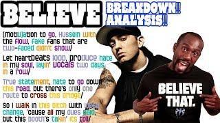Download Lagu Eminem - Believe: Lyrics/Rhymes BREAKDOWN! ANALYSIS! and REACTION Gratis STAFABAND