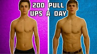 200 PULL UPS A DAY FOR 30 DAYS (results)