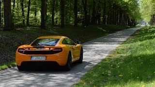 Mclaren MP4-12C W/ SPORT EXHAUST / LOUD SOUNDS