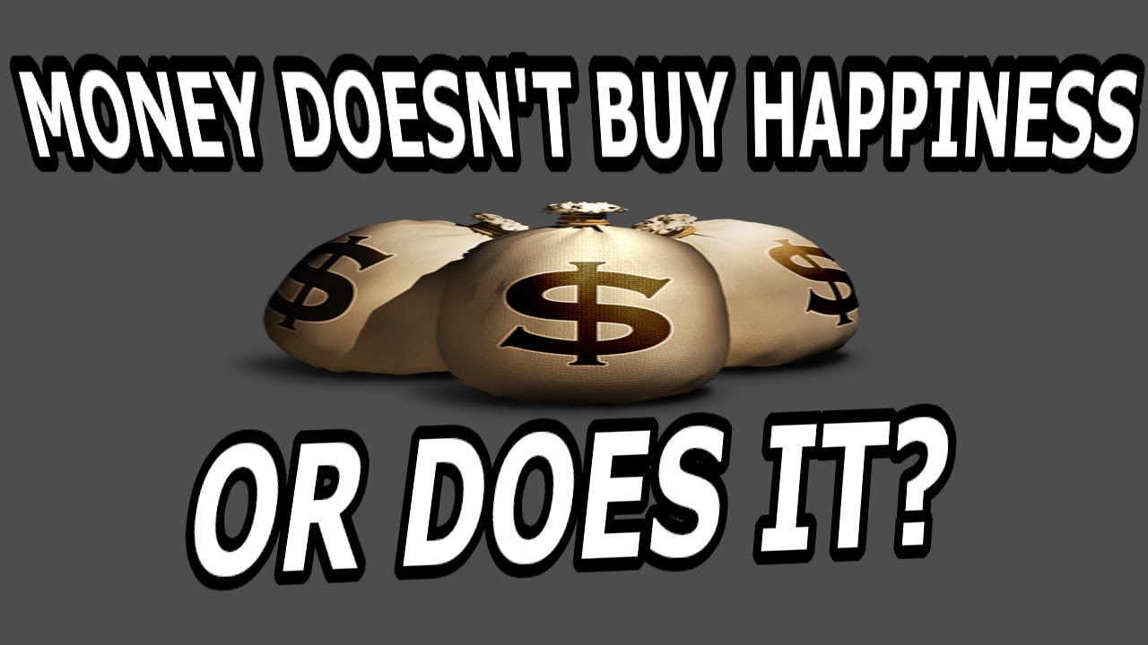 Does Money Buy You Happiness Buy Happiness or Does it