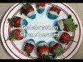 4th of July Strawberry Dessert 3 Ingredient cheekyricho Tutorial