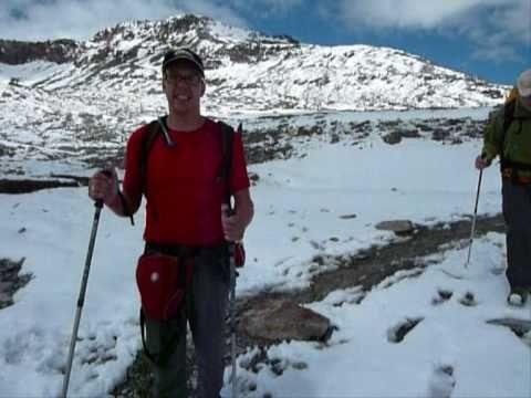 Dag 2 Gletschertocht Oostenrijk 2010