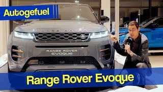 2020 Range Rover Evoque Exterior Interior REVIEW - Autogefuel
