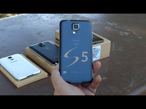 Samsung Galaxy S5 (4K) Unboxing & Real World Review!