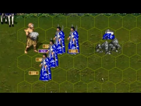 Heroes of Might and Magic III: Battle against Magi