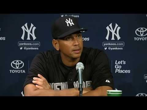 Alex Rodriguez on his suspension and return