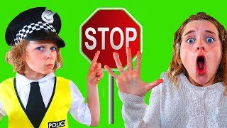 Don't break Police Rules with Biggy Pretend Play with The Norris Nuts