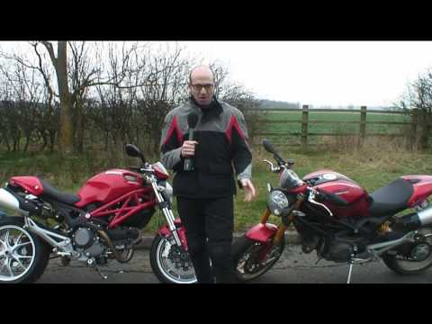 Ducati Monster 1100 ABS - brake tested Video