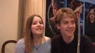 Jeremy Sumpter & Rachel Hurd-Wood in Japan