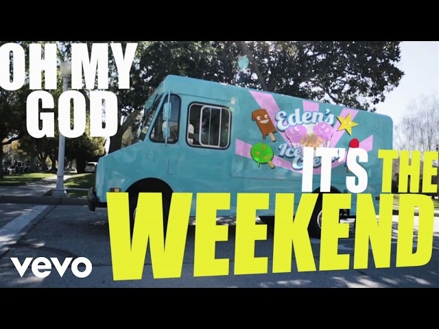 Eden xo - The Weekend (Lyric Video)