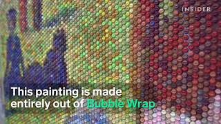 BUBBLE WRAP ART