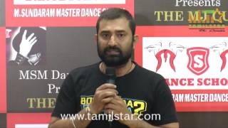 MSM Dance Company Press Meet Regards MJ Cup