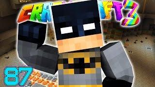 Minecraft Crazy Craft 3.0: I'M BATMAN SUPER HERO ROOM CHAMBER #87 (Moded Roleplay)