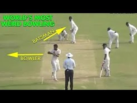 The Most Weird Bowling Action Ever In Cricket - Even Umpire Rejected That Ball