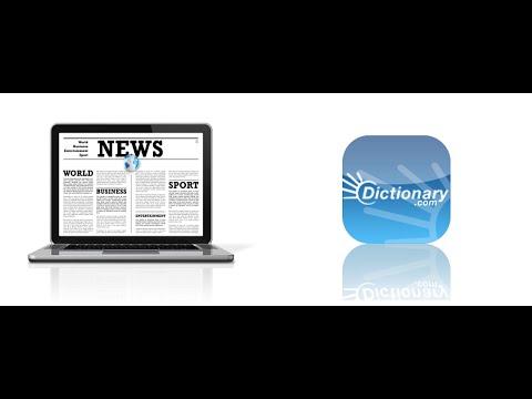Computer America - News; Dictionary.com!