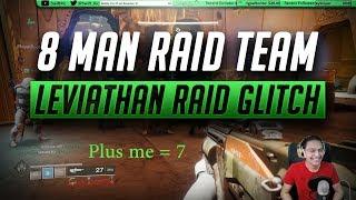 8 Man Leviathan Raid Glitch!