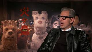 "Isle of Dogs: Jeff Goldblum ""Duke"" Official Movie Interview"