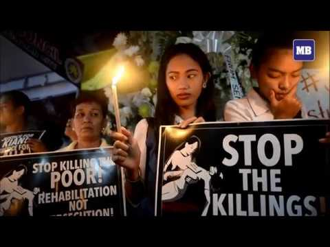 Protesters in Manila urge end to drug killings