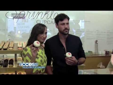 Dancing with the Stars' Maks and Karina visit Sprinkles Cupcakes New York!