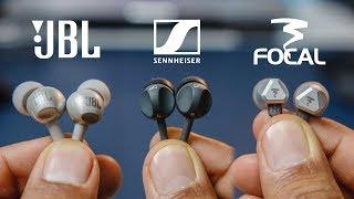 Jbl C200si Vs Sennheiser Cx 180 vs Focal Sense 100si Comparison Review