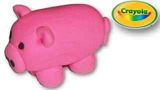 Making of Pig from Crayola Model Magic
