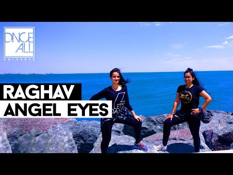 Indian girls dance in Chicago | Angel Eyes(Teri Baaton Mein)-Raghav | Hip Hop Dance Cover | DnceAll