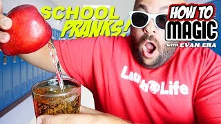 7 MAGIC PRANKS for BACK TO SCHOOL!