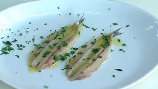 Ricette pesce: Alici marinate_uChef.it