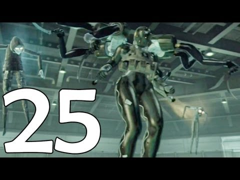 Metal Gear Solid 4 Hd -25- Commentary Playthrough - Snake Vs Screaming Mantis video