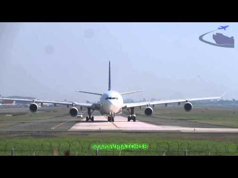Pope Francis-Philippine Airlines departure flight PR-8010 A340 RP-C3439