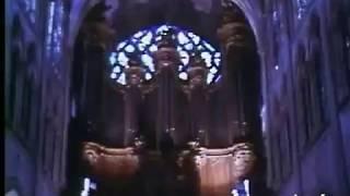 Michel Chapuis joue Bach à Saint-Séverin en vidéo (1979)
