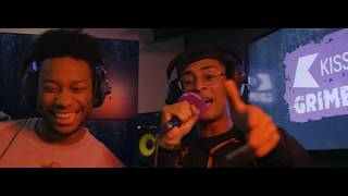 Gen & Jafro  Freestyle + chat with Rude Kid | KISS GRIME