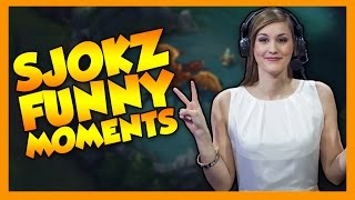 Sjokz Funny Moments - League of Legends