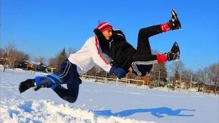 WWE MOVES IN THE SNOW 2