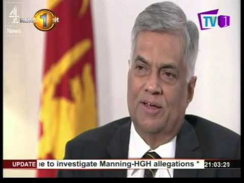 Post-war reconciliation and accountability – Premier Wickremesinghe explains