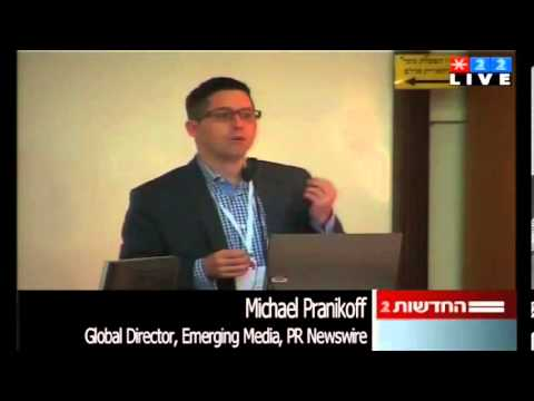 Michael Pranikoff - PRNewswire - איגוד יועצי התקשורת ופורום השיווק